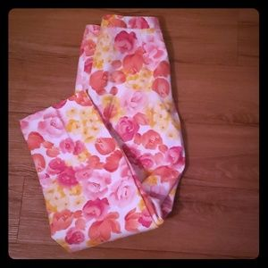 Talbot's  petite Casual floral pants